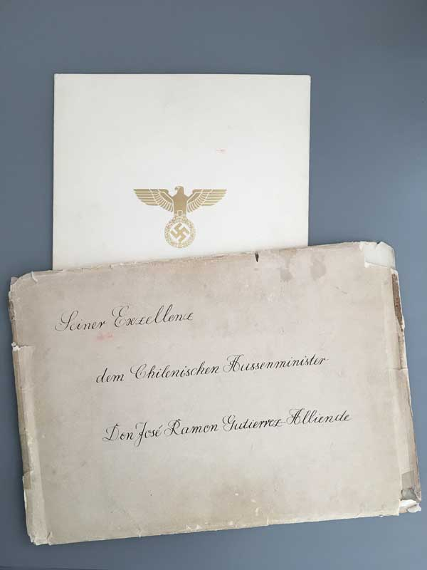 German Eagle Order Envelope