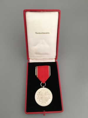 German Eagle Order Merit Medal