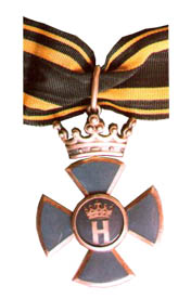 Knight cross 2nd class revers