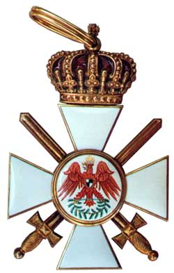Order of the Red Eagle 2nd class with crown and swords