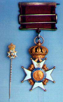 Miniature and Knights Cross