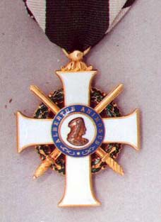 knight's cross made by Rothe, medallion already changed